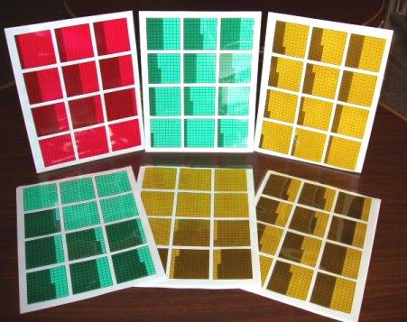 Decimal Squares® Overhead Transparencies