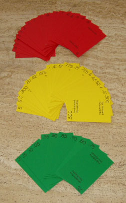 DecimalSquares®Playing Cards